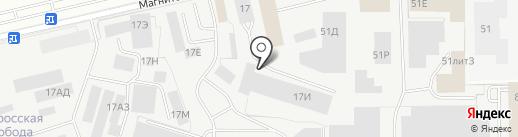 Инстройснаб на карте Санкт-Петербурга