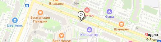 Медгарант на карте Мурино