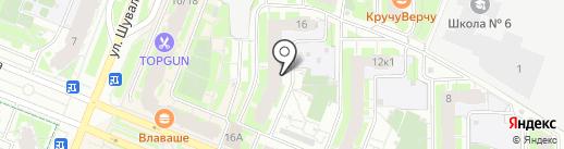 Хоумхотелспб на карте Мурино