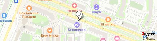 С-КРЕП на карте Мурино