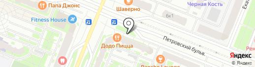 А2 на карте Мурино