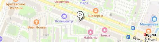 HAIRISMA на карте Мурино