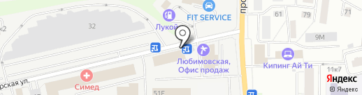 Росспротимпорт на карте Санкт-Петербурга