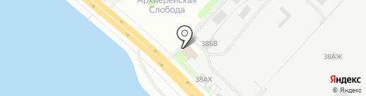 КВС-Авто, ЗАО на карте Санкт-Петербурга