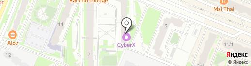 Ателье на карте Мурино