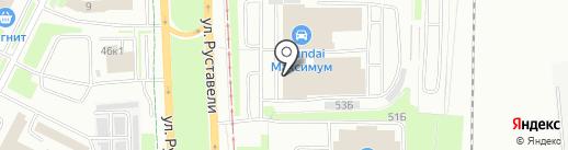 Максимум Авто на карте Санкт-Петербурга