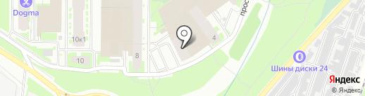 Норман на карте Мурино