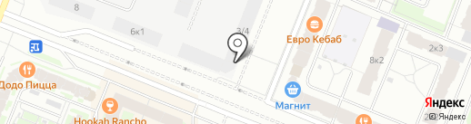 Территория на карте Мурино