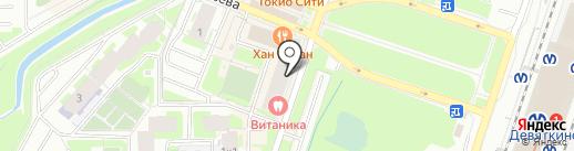 РИФ на карте Мурино