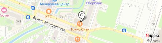 Tokyo-City на карте Мурино