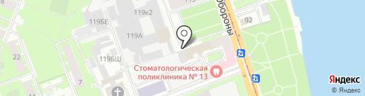 Театральная Семья на карте Санкт-Петербурга