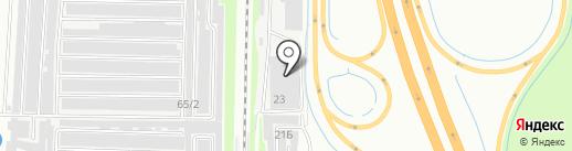 Антелл на карте Мурино