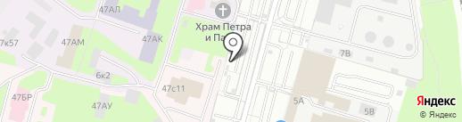Авто-Драйв на карте Санкт-Петербурга