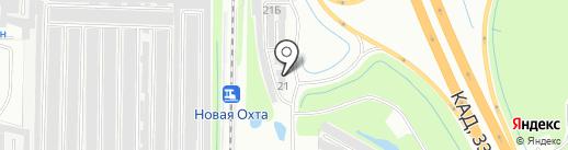 Ренотек на карте Мурино