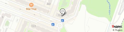 У соседа на карте Мурино