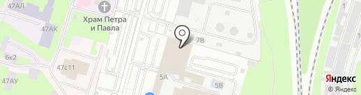 АвтоПрофи на карте Санкт-Петербурга