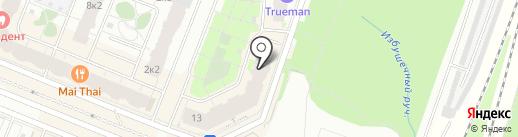 Вуа-ля на карте Мурино