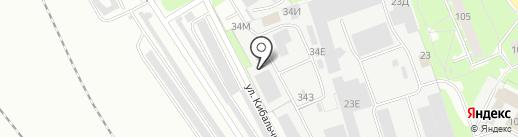 Аква-Колор на карте Санкт-Петербурга