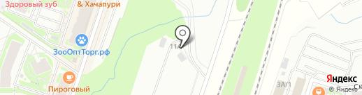 Автосервис на карте Мурино