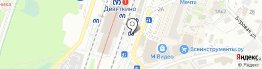 Магазин печатной продукции на карте Мурино