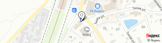 Полушка на карте Мурино
