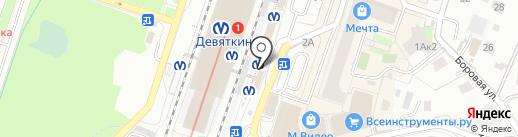 Магазин парфюмерии и косметики на карте Мурино