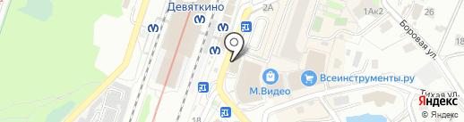 Табакон на карте Мурино