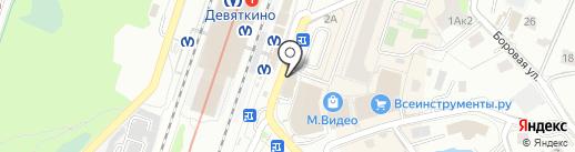 Ивановский трикотаж на карте Мурино