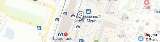 Магазин трикотажа на карте Мурино