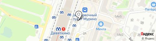 Связной на карте Мурино