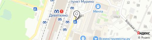 Магазин автозапчастей для ВАЗ на Привокзальной площади на карте Мурино