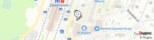 Табачная лавка на карте Мурино
