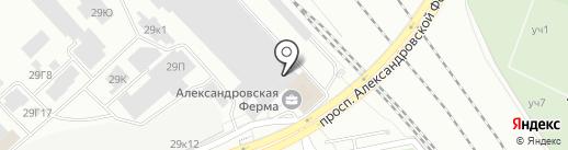 Дюкон на карте Санкт-Петербурга