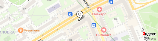 Hansebier на карте Санкт-Петербурга