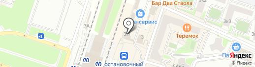 Ориент на карте Мурино