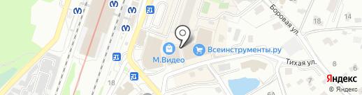 Маракуши на карте Мурино