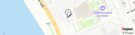 AEROC на карте Санкт-Петербурга