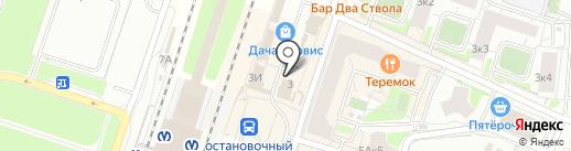 Дача-сервис на карте Мурино