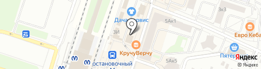 Магазин сувениров и подарков на Привокзальной площади на карте Мурино