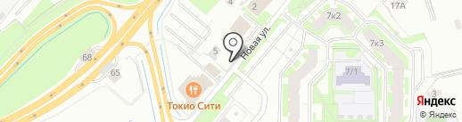 Магазин свежей выпечки на карте Мурино