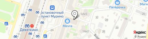 ВотОнЯ на карте Мурино