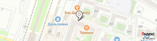 Мастерская на карте Мурино