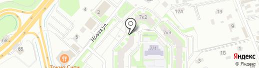 Магазин аксессуаров на карте Мурино