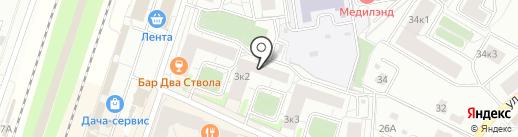 НОРД-СНАБ на карте Мурино