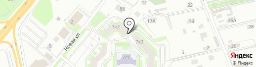Продовольственный магазин на карте Мурино