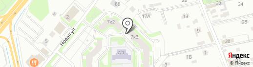 Вундер Киндер на карте Мурино