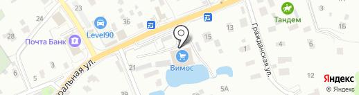 ВИМОС на карте Мурино