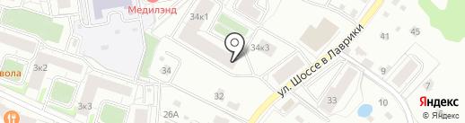 ПИВОРЫБА на карте Мурино