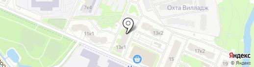 Фармадом на карте Мурино