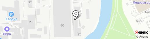 Ситируф на карте Санкт-Петербурга